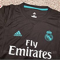 Футбольная форма Реал Мадрид Роналдо черная 2017-2018 (выездная) -Топ качество, фото 3