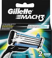 Сменные картриджи для бритья Gillette Mach 3, 2 шт.