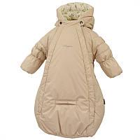 Демисезонный спальный мешок для мальчика, модель ZIPPY, цвет light beige
