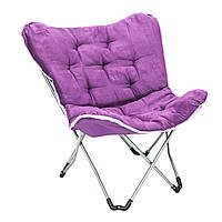 Раскладное кресло для сада Garden4you EVEREST 85x74xH87cm  lilac