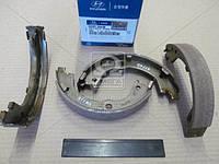 Колодки тормозные барабанные (Производство Mobis) 583052BA00