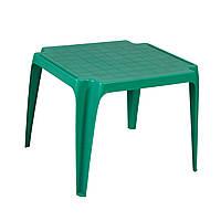 Стол детский пластиковый для дачи Garden4you BABY  56x52xH44cm  green