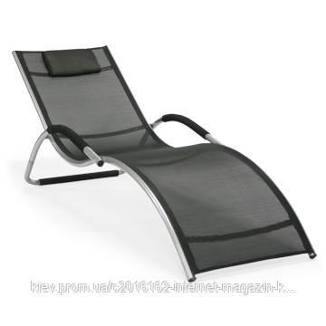 Шезлонг кровать для дачи Garden4you BRIGO  Black