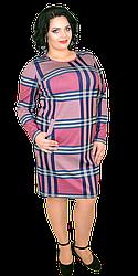 Платье женское в клетку