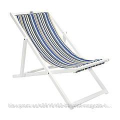 Шезлонг кресло Garden4you KASA  109 5x59 5xH83 5cm blue striped