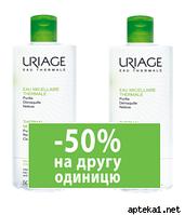 УРЬЯЖ Мицелярная термальная вода для комбинир. и жирной кожи 500 мл*2 шт.(-50% на второй продукт)