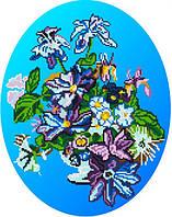 Ирисы (Синий фон)