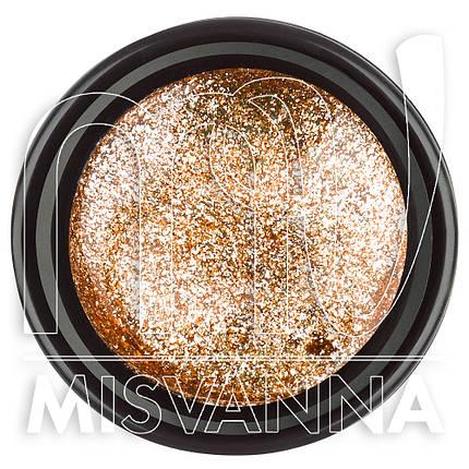 Глиттерный гель Starlet Professional №18 10 мл золото, фото 2