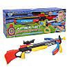 Арбалет детский стрелок, спортивная игра, в комплекте прилагаются две длинные стрелы с присосками, прицел