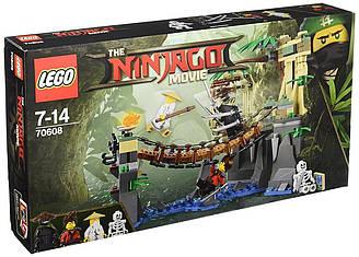 Лего ниндзяго Битва Гармадона и Мастера Конструктор LEGO NINJAGO  70608