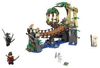 LEGO NINJAGO Лего ниндзяго Битва Гармадона и Мастера Конструктор 70608