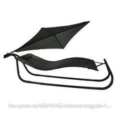 Шезлонг садовый с крышей Garden4you TREND  Dark-grey