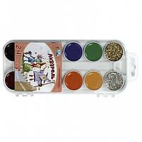 Краски акварель медовые ГАММА Сказочный мир 312070, 24 цвета, б/кист.