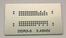 Трафарет BGA DDR3-5, шар 0,45 мм