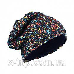 Шапка Buff Knitted & Polar Hat Yssik Dark Navy/Navy