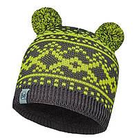Шапка Buff Child Knitted & Polar Hat Novy Grey Castlerock/Grey Vigore