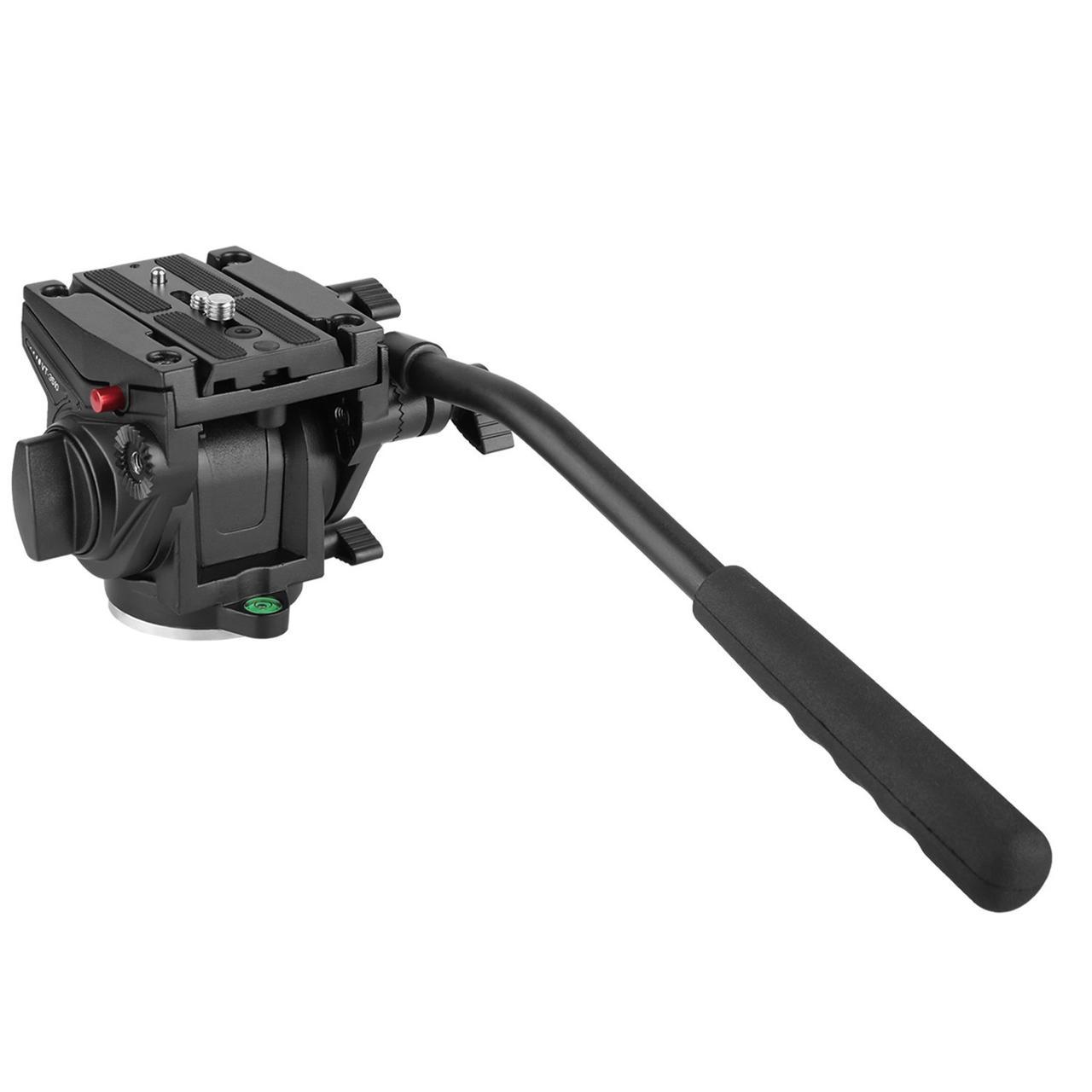 Видеоголова для штатива или монопода Kingjoy VT-3510 (голова аналог Manfrotto 701HDV)