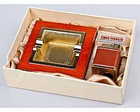 Набор подарочный элитный Pioneer 2в1 пепельница и зажигалка №3623