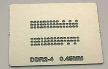 Трафарет BGA DDR2-4, шар 0,45 мм