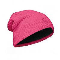 Шапка Buff Knitted & Polar Hat Drip Pink Fluor