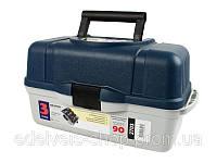 Ящик для рыбалки 3 полки Aquatech 2703 (3-полочный) Кейс для хранения снастей. Удобно и практично для рыбака.