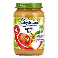 Babydream Пюре яблочное 190 г  с 4-го мес.