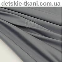 Сатин премиум, цвет серый антрацитовый, ширина 240 см (№1084)