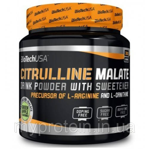 BioTech Цитрулин малат Citrulline Malate 300 g