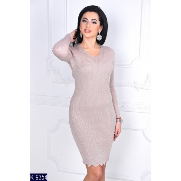 b22bdaaa9f7536 Вязана сукня з люрексом: продажа, цена в Полтаві. сукні жіночі от ...