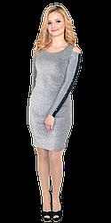 Платье женское с люрексом