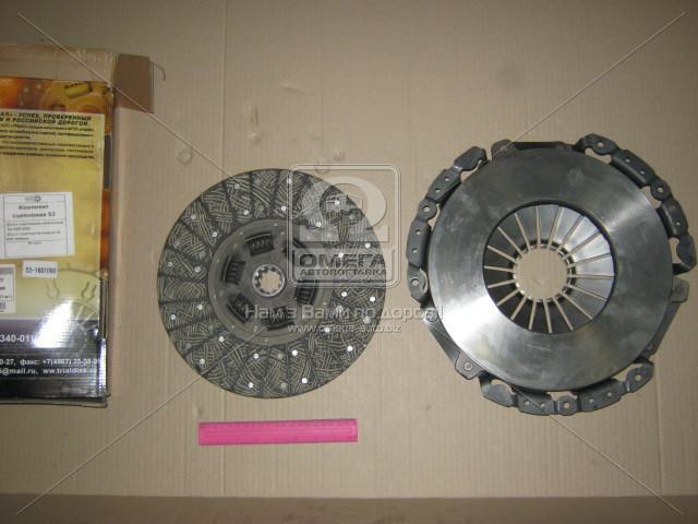 Сцепление (комплект) (корзина+диск 53усилинная) ГАЗ, ПАЗ (Производство ТРИАЛ) 53-1601090 - АВТОКОМПОНЕНТ в Мелитополе