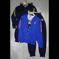 Тройка подростковый спортивный костюм для мальчиков оптом GRACEС
