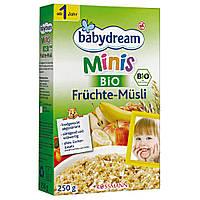 Babydream Minis Органические фрукты-мюсли 250 г  с 12-го мес.
