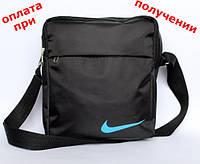 Мужская спортивная тканевая сумка барсетка рюкзак водонепроницаемая