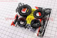Сальник двигателя к-кт 4шт Honda Dio ZX (15,5*25,5*7-2шт;17*30*5;24*40*7) TMMP