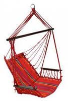 Кресло подвесное для сада красное Garden4you HIP  red striped