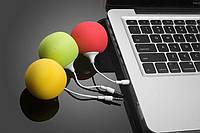Портативная колонка губка AD21 аудио jackю. Портативная колонка для телефона, планшета, ноутбука