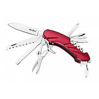 Нож многофункциональный. Мультитул походный. Нож охотничий швейцарский. 11 функций.