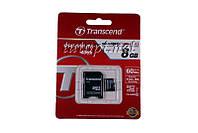 "MicroSD Transcend 8GB ""ОРИГИНАЛ"" - Premium"