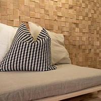 Панель деревянная для отделки стен. Объемная.