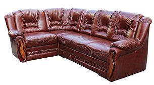 """Кутовий диван в шкірі """"Васко"""". (265*185 см), фото 2"""