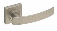 Дверная ручка Gamet Crux сатиновый никель