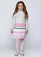 Платье cерое  полоска, фото 1