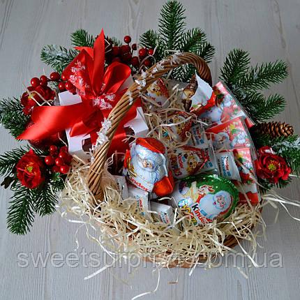 """Новогодняя подарочная корзина """"Для самых послушных"""", фото 2"""
