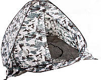 Палатка рыболовная, кемпинговая, туристическая зимняя. 2*2 дно отстегивается.