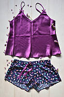 Женский комплект майка и шорты 48-50 размер