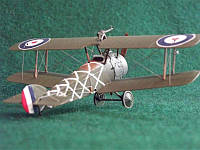 RN044 Sopwith 2F.1 Camel RAF figher