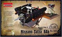 Hispano Suiza 8Ab, engine