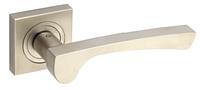 Дверная ручка Gamet  Lacrima сатиновый никель