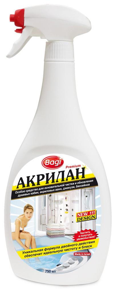 Bagi Акрилан для акриловых ванн и душевых кабин Bagi 750 мл